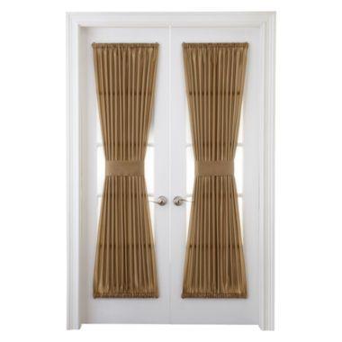 royal velvet encore rod pocket door panel pocket doors doors and pockets. Black Bedroom Furniture Sets. Home Design Ideas