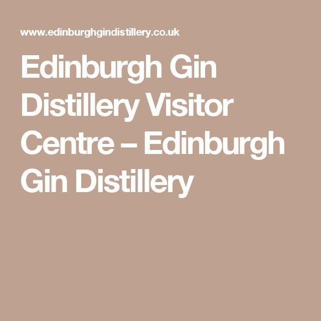 Edinburgh Gin Distillery Visitor Centre – Edinburgh Gin Distillery