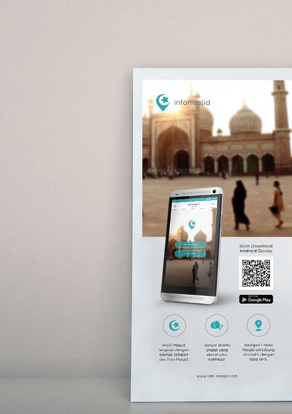 Infomasjid App brochure