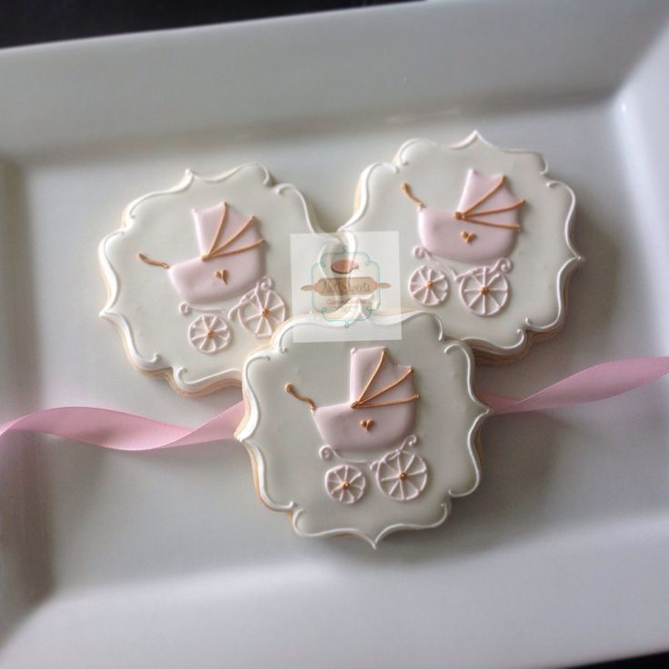 best celebration  baby shower cookies images on, Baby shower invitation