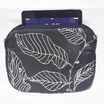 Stylish Scattered Leaves iPad Case for Diwali gifting.