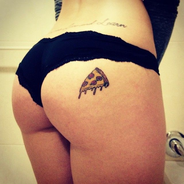 We would never stoop to sharing a butt just for likes. We just like people like pizza tattoos. We really like @originalpizzaslut!  Tag us in your pizza tattoos: @pizzatattoos #pizzatattoos