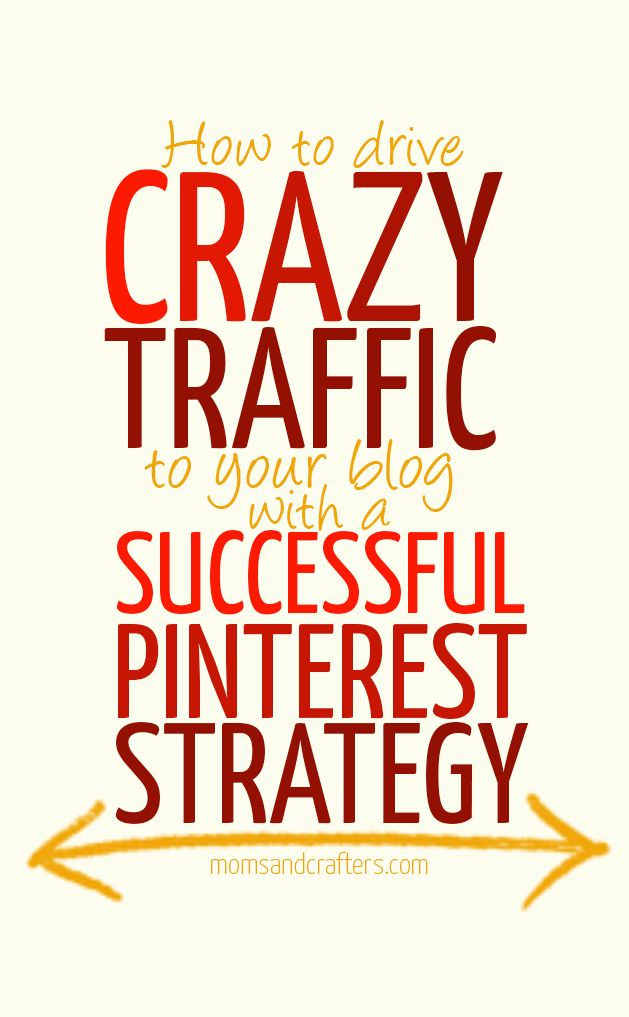 Think Pinterest is for overambitious crafty moms? Think again! Read how you can succeed on Pinterest by developing a Pinterest strategy that is built for success.