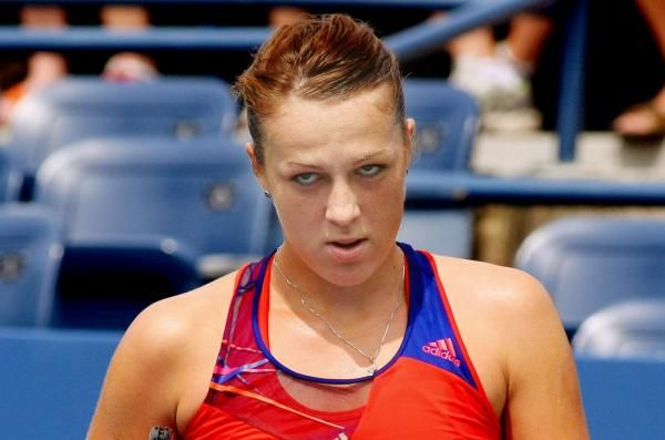 The Sports Xchange Anastasia Pavlyuchenkova won the lone match that was completed Tuesday at the Qatar Open.