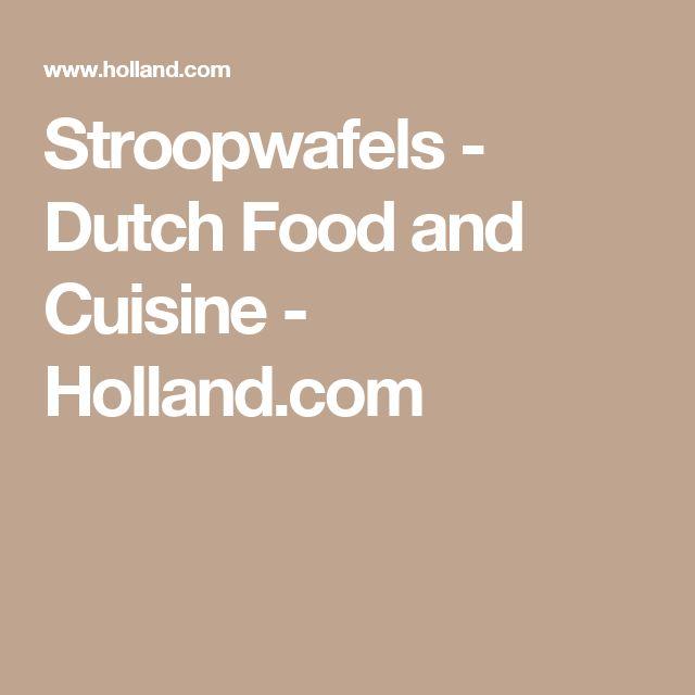 Stroopwafels - Dutch Food and Cuisine - Holland.com