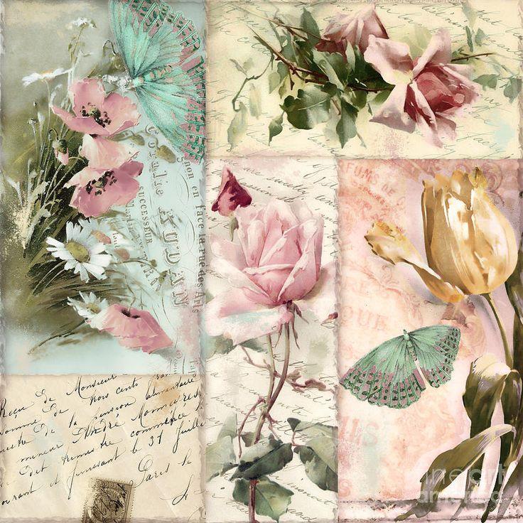 Belles Fleurs II Painting
