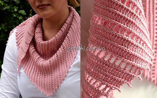 Боснийское вязание . Бактус крючком. Схема, описание, видеоурок