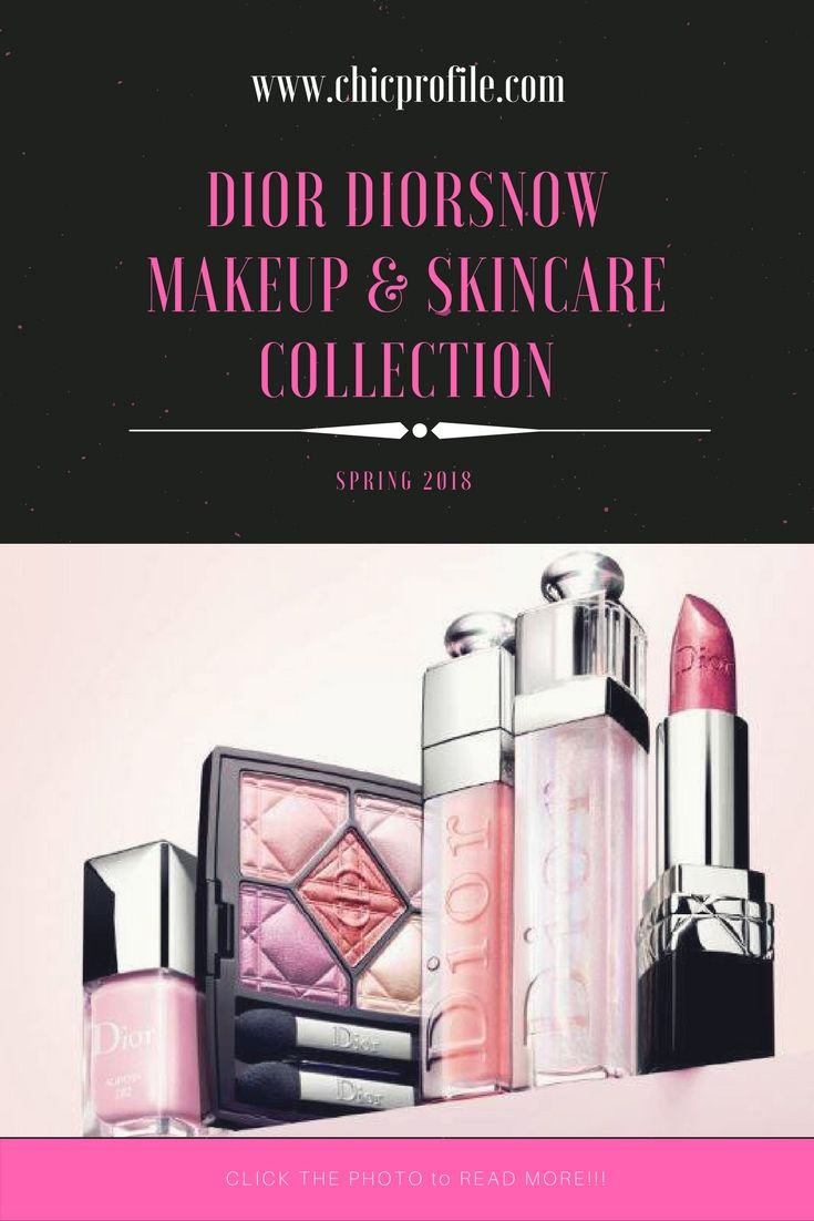 Dior Diorsnow Spring 2018 Collection contains a new and limited edition makeup items in rosy, lilac and peachy shades. There's also a new skincare product. via @Chicprofile