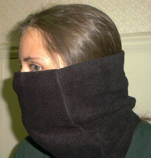 Neck Gaiter - great for winter walks. Had to make one for Jeff too once he tried it. If I make another one I'll use thicker fleece and maybe make it just a touch deeper.