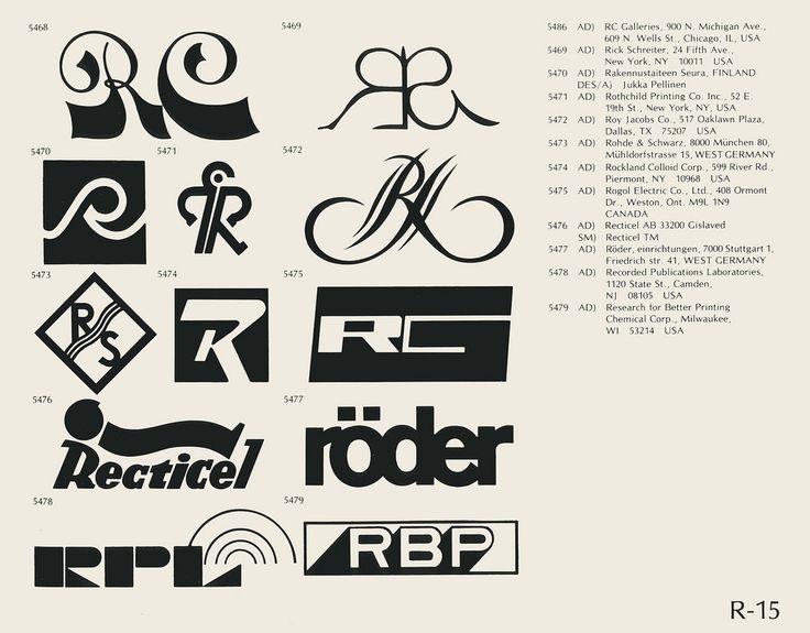 R15 Vintage logo design, Brand symbols, Trademark symbol