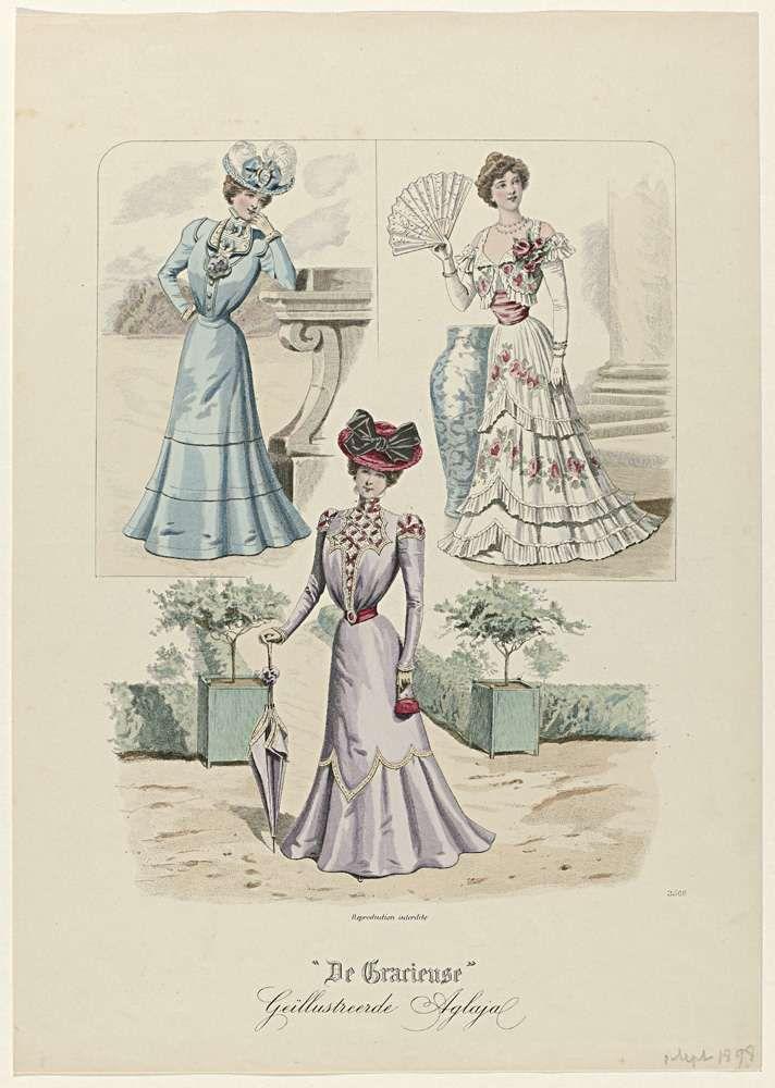 De Gracieuse, Geïllustreerde Aglaja, september 1898, No. 3566