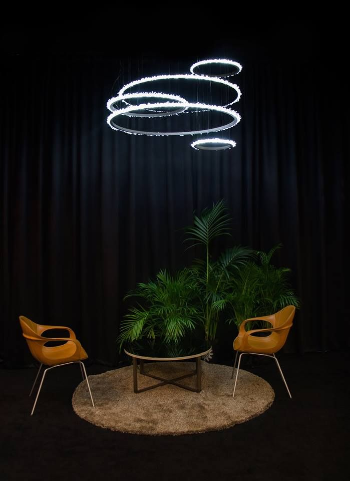 Halo crystal chandelier www.manooi.com #Manooi #Chandelier #CrystalChandelier #Design #Lighting #Halo #luxury #furniture