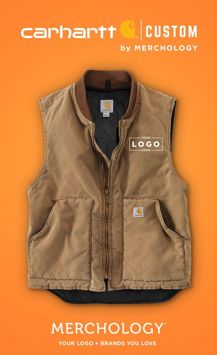 5191ec3fb Add your logo to Carhartt Vests & Jackets! | Carhartt - Custom Logo ...