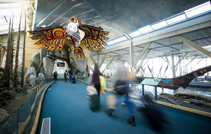 The Hetux by Connie Watts - Ten Stunning Works of Art at YVR
