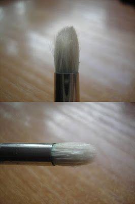 Makijaż to malowanie piękna na twarzy...: Pędzlowe porównanie 2: Pędzle ołówkowe - Hakuro, N...