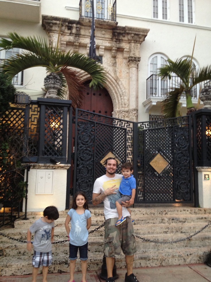 Casa de Versace!!
