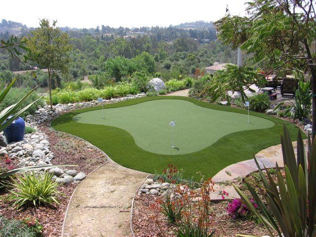 17 best ideas about backyard putting green on pinterest