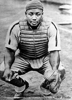 Josh Gibson Negro League Legend, and one of the greatest hitters of all time.
