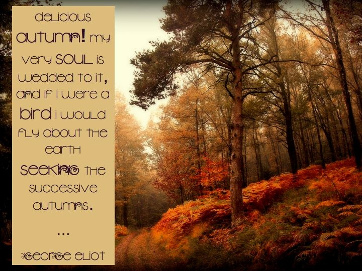 London autumn quotes