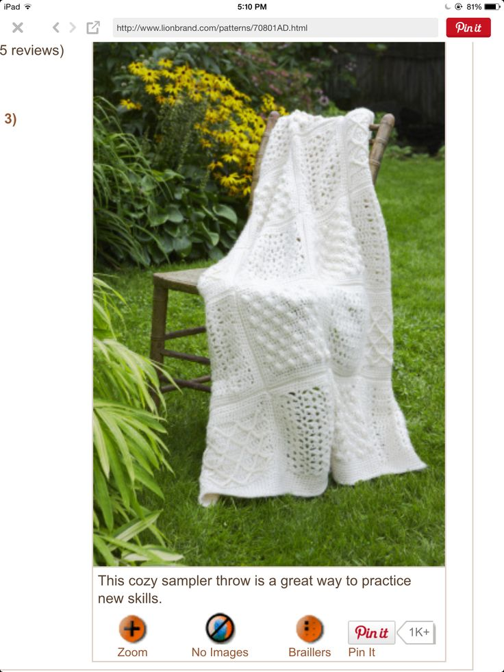 119 best crochet afghan white images on pinterest knitted ravelry sampler throw pattern by lion brand yarn free dt1010fo