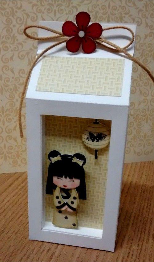 INSPIRATION milk carton with display inset