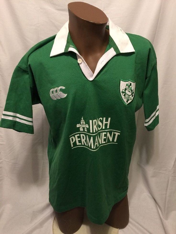 Ireland Rugby Shirt Jersey Canterbury New Zealand All Blacks Irish Permanent Med | Sporting Goods, Team Sports, Rugby | eBay!
