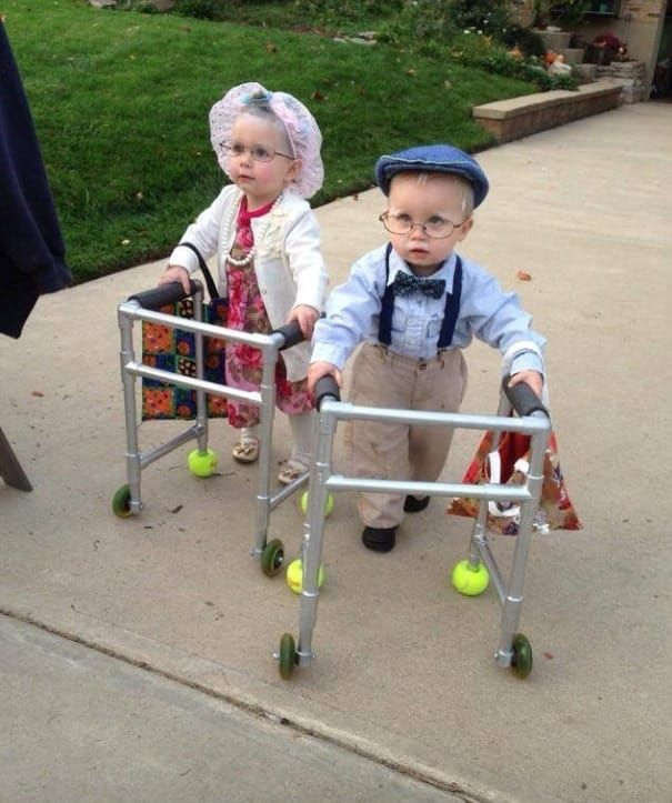 Adorable Babies Dressed Up as Adorable Old People - Cotton Headed Nana Muggins | Guff