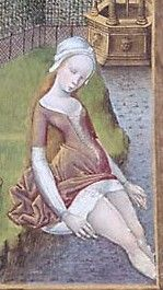 Hours of Anne of France.  (PML, MS M.677 fol. 211r)  Bourges, France, c. 1473