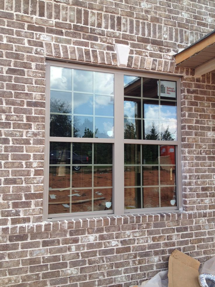 Cypress Moss Ivory Mortar Clay Windows Brick Exterior