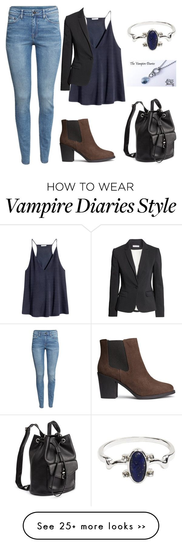 """Untitled #297"" by samantha1-a on Polyvore featuring H&M"