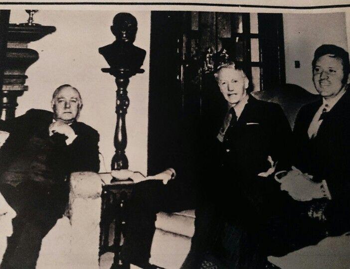 Samesprekings op die 8 ste en 9 de September 1975 tussen Vorster en Smith.