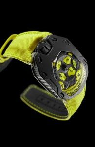 URWERK UR105-TA Black Lemon