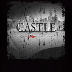 Castle American Most Watched TV Show Cool Grunge Look T shirt