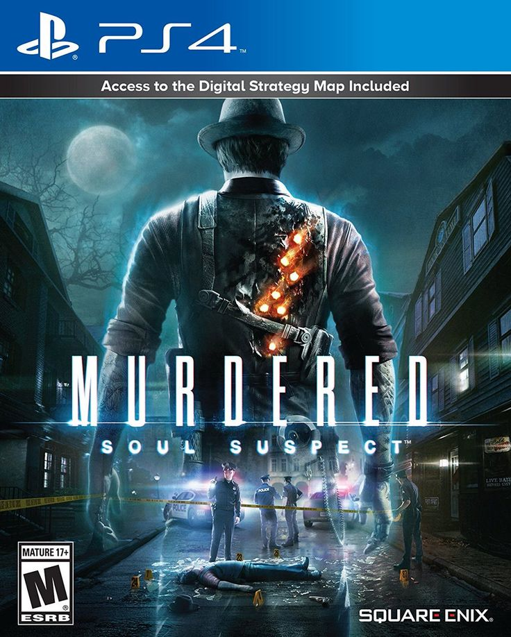 Murdered: Soul Suspect (digital code) is on sale for $4.99/-75% #Playstation4 #PS4 #Sony #videogames #playstation #gamer #games #gaming