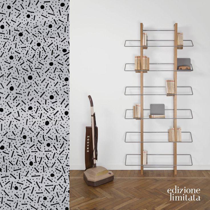 Grapevine_wall bookshelf