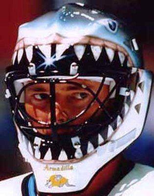 Masque de Brian Hayward, Sharks de San Jose