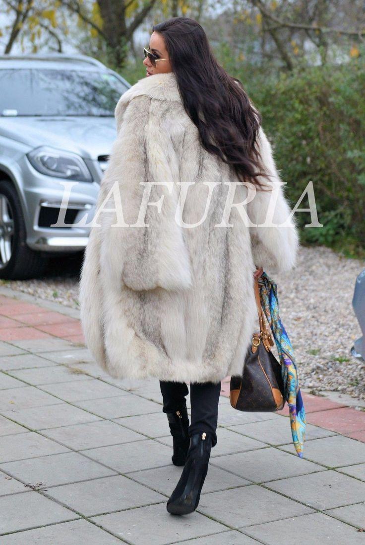 NEW LYNX FUR COAT CLASS OF RUSSIAN SABLE LONG JACKET MINK FOX CHINCHILLA PONCHO | eBay