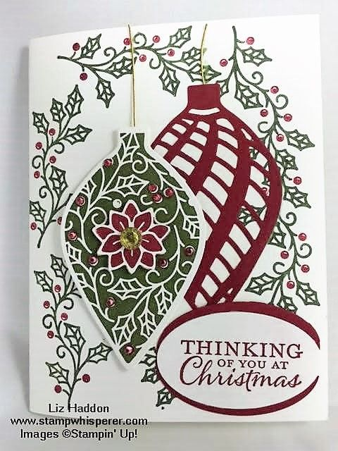 Embellished Ornaments by biznlarry - Cards and Paper Crafts at Splitcoaststampers
