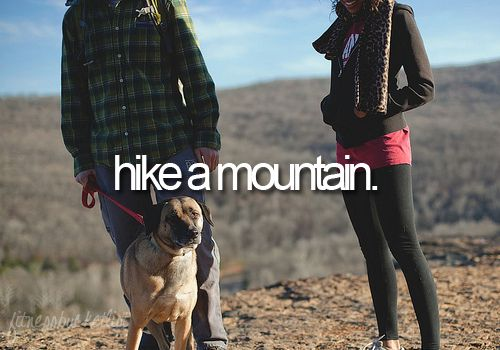 check. now onto a bigger mountain =): Irons Mountain, Buckets Lists, Life, California, Islands, Puppy, Fit Buckets, Crater Lakes, Hiking