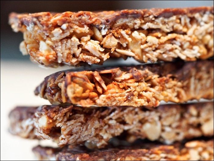 One For The Lunchbox: Fructose Free Muesli Bars