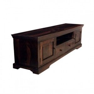 Wooden tv unit robust- rosewod (sheesham)