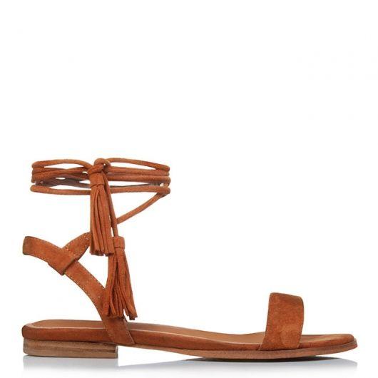 FIDELITY tie up sandals. #jomercershoes #shopnow