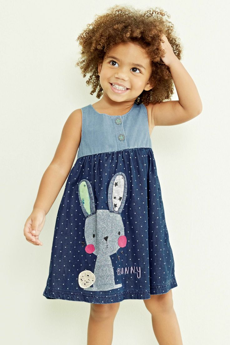 Buy Bunny Denim Dress (3mths-6yrs) from the Next UK online shop