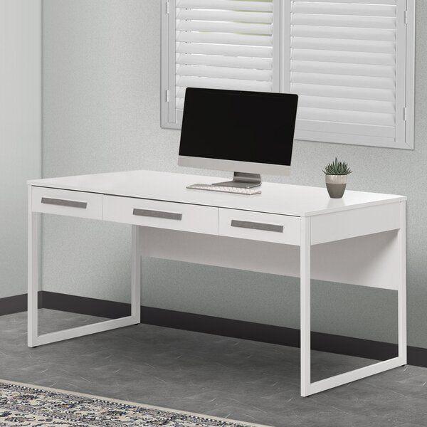 Uriegas 59 Desk In 2020 Furniture Chic Writing Desk White