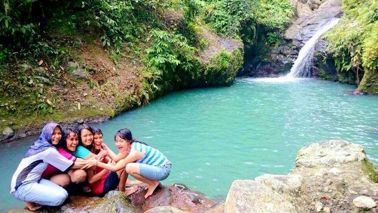 Air Terjun Tibu Ijo Pusuk Lombok Barat