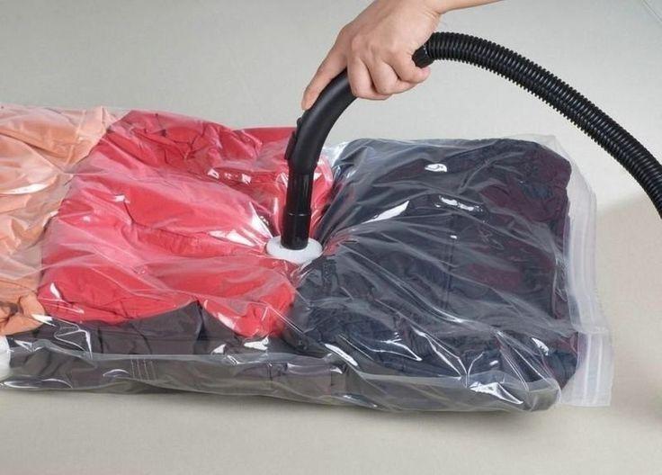 Saco p/ Embalagem À Vácuo Protetor e Organizador - 60 x 80 - Utifácil
