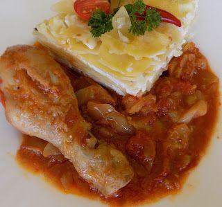 Családi kondér: Lecsós csirke túrós csuszával