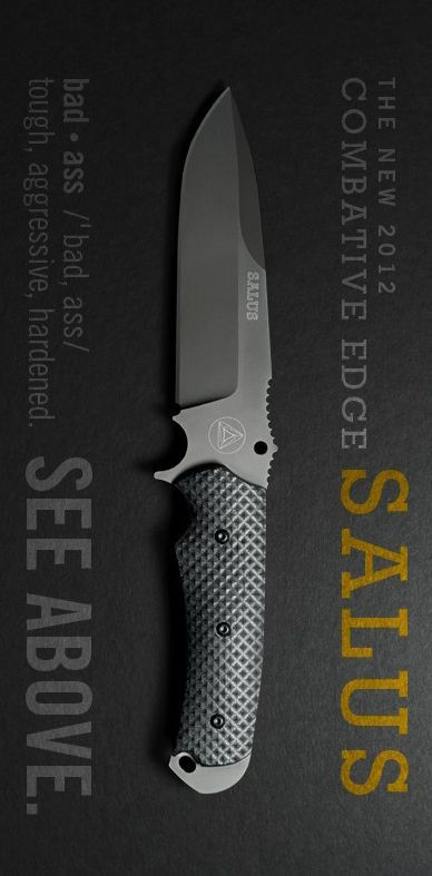 Combative Edge CBE00404 Salus Fixed Blade Knife @thistookmymoney