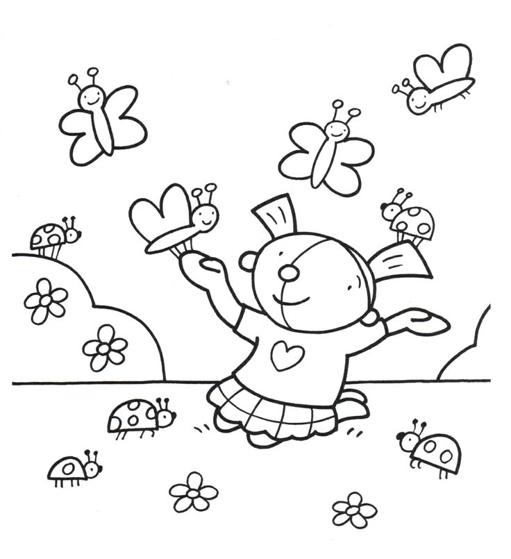 24 Best Kleurplaten Images On Pinterest For Kids Coloring Books