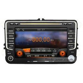 2 Din 2003-2008 2009 2010 2011 VW Volkswagen Golf Plus VI MK5 DVD GPS voiture stéréo Bluetooth musique AM FM Radio TV Caméra de arrière IPOD IPhone AUX USB SD MP3 Contrôle Volant